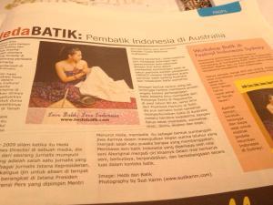 hedaBATIK: Indonesian Batiker in Australia.