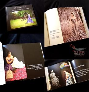 "our book ""The Beauty of Batik"". We are Heda Bailey, Suzi Karim and Yuliana Kusumastuti so passionate about batik. This book is presented in English with the hard cover and super glossy thick paper. This book marks The Spirit of Kartini on April 2014."